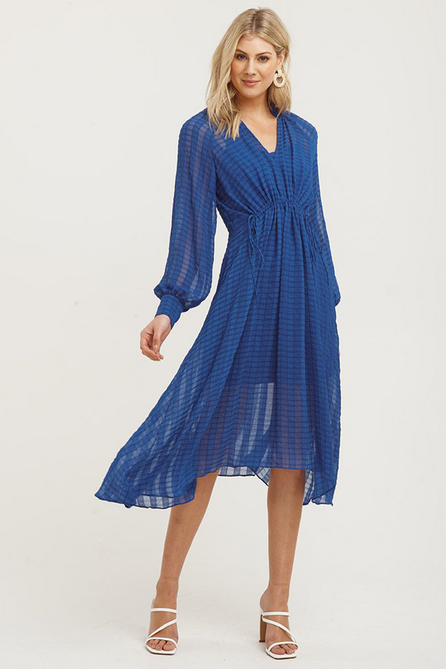 Mallorca Long Sleeve Midi Dress