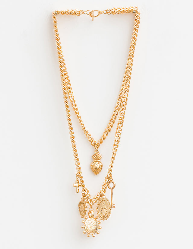 Rightly Royal Gold Necklace