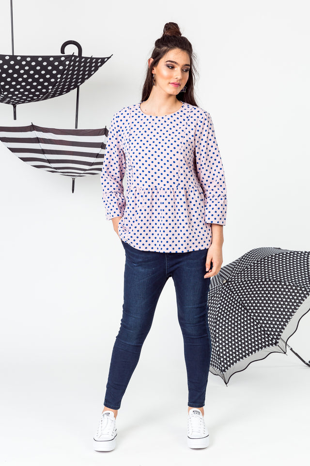 Speckle Blouse