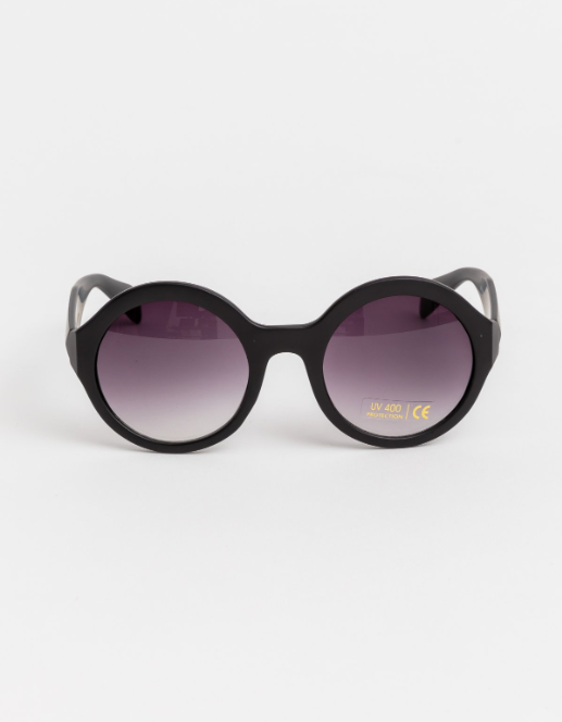 Tatum Matte Black Sunglasses