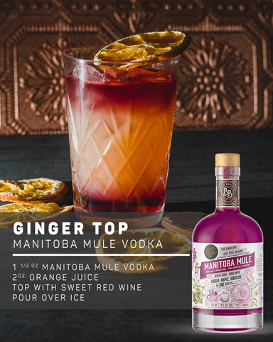 MANITOBA MULE INFUSED VODKA RECIPE