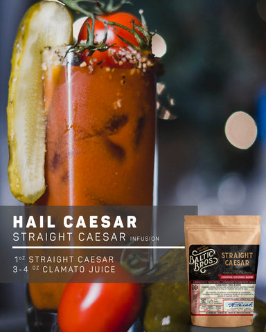 STRAIGHT CAESAR INFUSION RECIPE