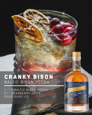 BALTIC BISON INFUSED VODKA RECIPE