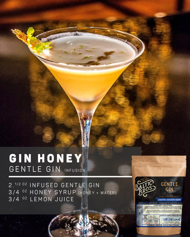 GENTLE GIN INFUSION RECIPE