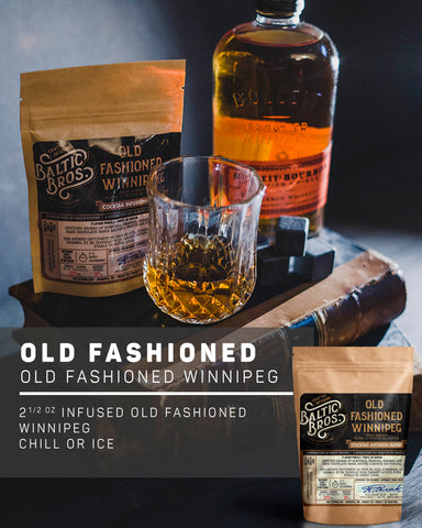 OLD FASHIONED WINNIPEG INFUSION RECIPE