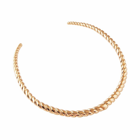 Lana 18K Gold Plated Day Collar Choker - Day Collar - BDSM Collar Store