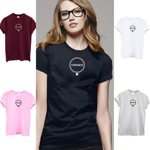 Owned T-Shirt 5 Colors - Clothing - BDSM Collar Store