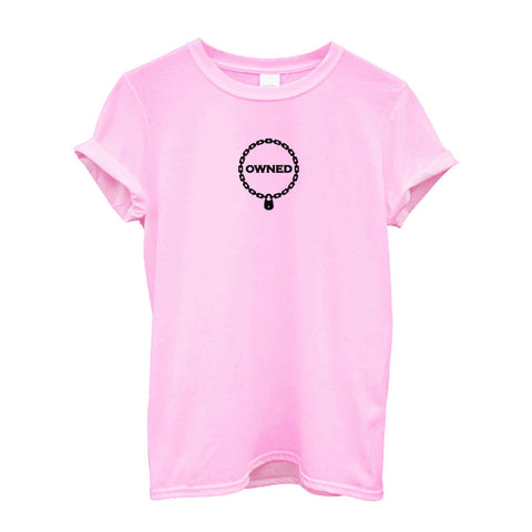 Owned T-Shirt 5 Colors - BDSM Collar Store