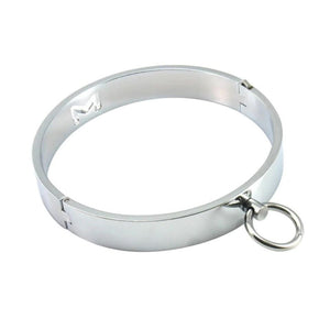 Circle Collar, Stainless Steel - Collar - BDSM Collar Store