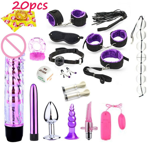 Image of Ultimate Bondage Kits, Choose from 28 Combos 19.99 - 79.99 - Cuffs - BDSM Collar Store