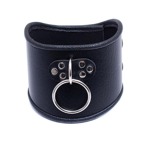 Posture Collar, Soft Vegan Leather - Collar - BDSM Collar Store