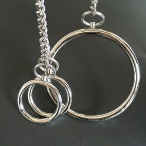 Collar and Wrist Cuffs, Stainless Steel