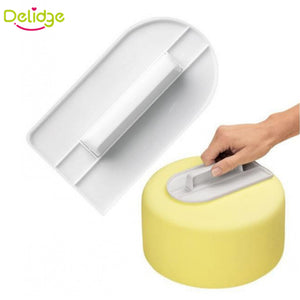 Plastic Cake Smoother Spatulas Baking Tools