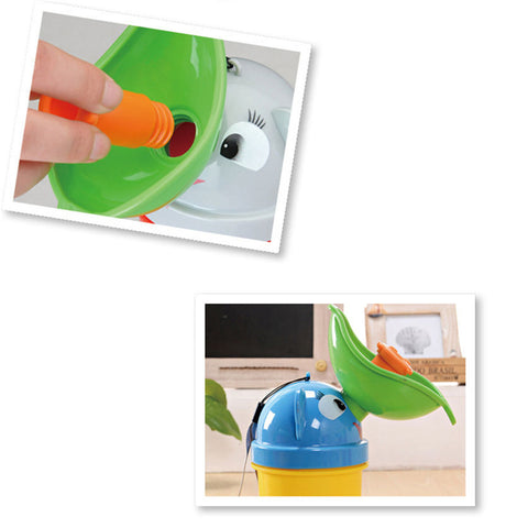 Portable Convenient Travel Cute Baby Urinal Potty Car Toilet