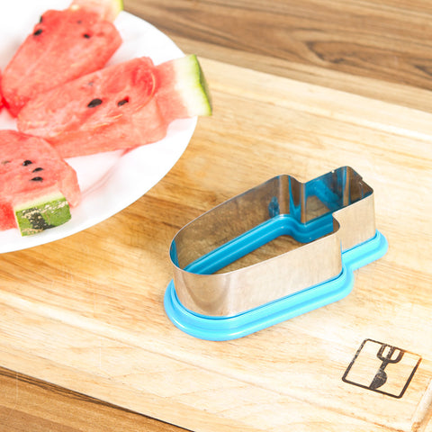 1PC Creative Watermelon Popsicle Ice Cream Mold Vegetable Cutting Tool