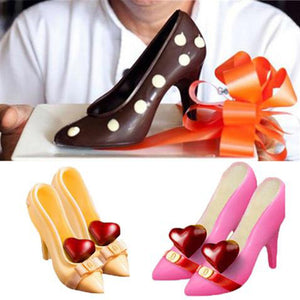 3D High Heel Shoes Chocolate Molds Cake Decorating Tools