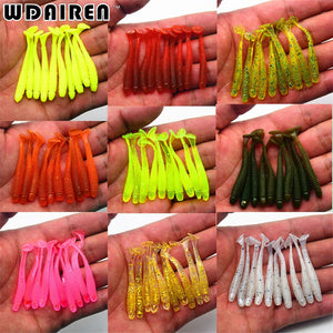 10Pcs/lot Wobbler Jigging Fishing Lure Bait Artificial Worms