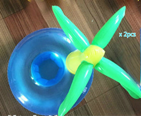 Swimming Baby Accessories Inflatable Neck Ring Tube for Safety and Bathing