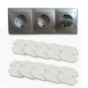 10pcs Baby Safety Cover Hole  Electric Protection Socket Locks
