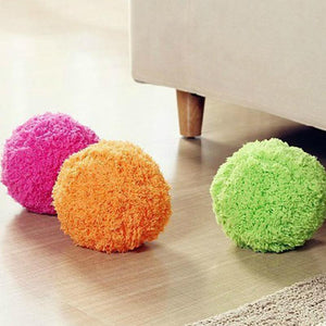 Automatic rolling Robotic Mop Ball Mini Vacuum Cleaner