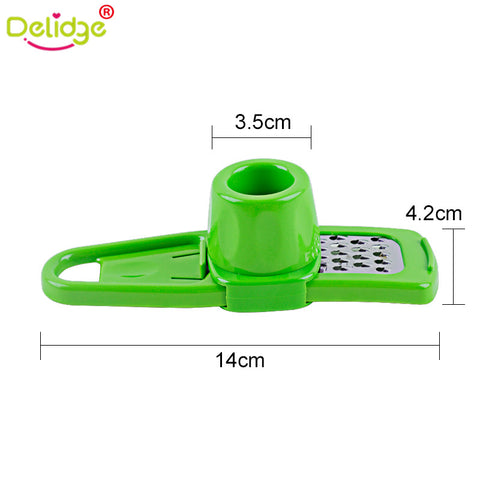 1 pc Multi-functional Garlic and Ginger Grinding Grater Planer Slicer Cutter