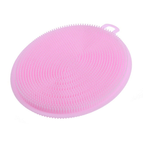 Silicone Dish Bowl & Pot Scouring Wash Brushes