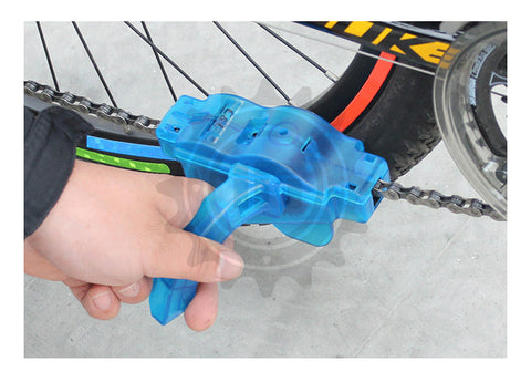 Bicycle Chain Cleaner Machine Brushes Kit Outdoor Sports