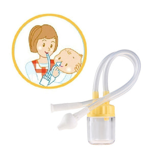 Newborn Baby Nose Cleaner Vacuum Suction Nasal Aspirator
