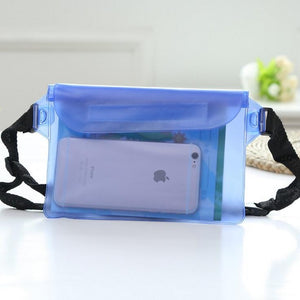 Waterproof Sports Waist Bag Swimming Drifting Fanny Pack Pouch