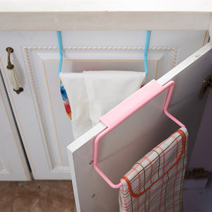 Kitchen Towel Hanging Rack Holder Rail Organizer