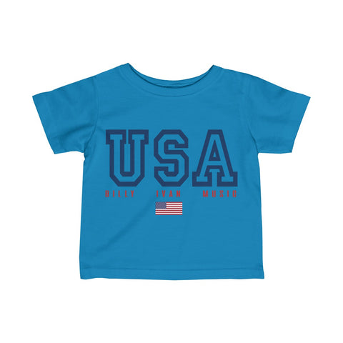 "Baby/Toddler ""USA"" Billy Ivan Official T Shirt"