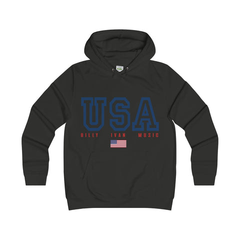 "Women's ""USA"" Billy Sport College Hoodie"