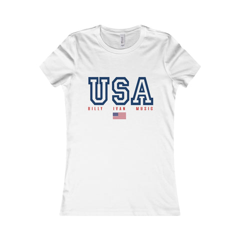 Women's USA Billy Sport T Shirt