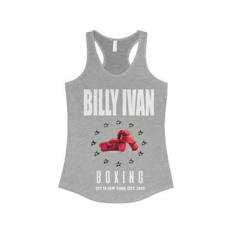 "Women's ""Boxing Club"" Billy Ivan Racerback Tank"