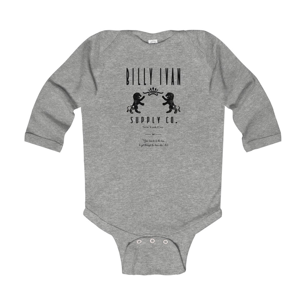 "Infant ""The Superior Lion"" Billy Ivan Long Sleeve Bodysuit"
