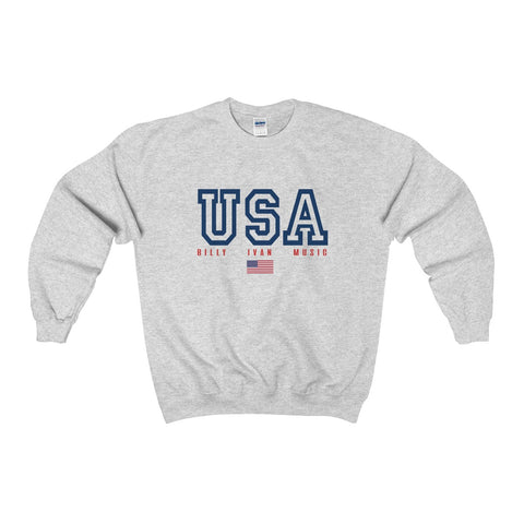 "Men's ""USA"" Billy Sport Crewneck Sweatshirt"