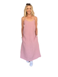 CELINE SLIP DRESS - PINK