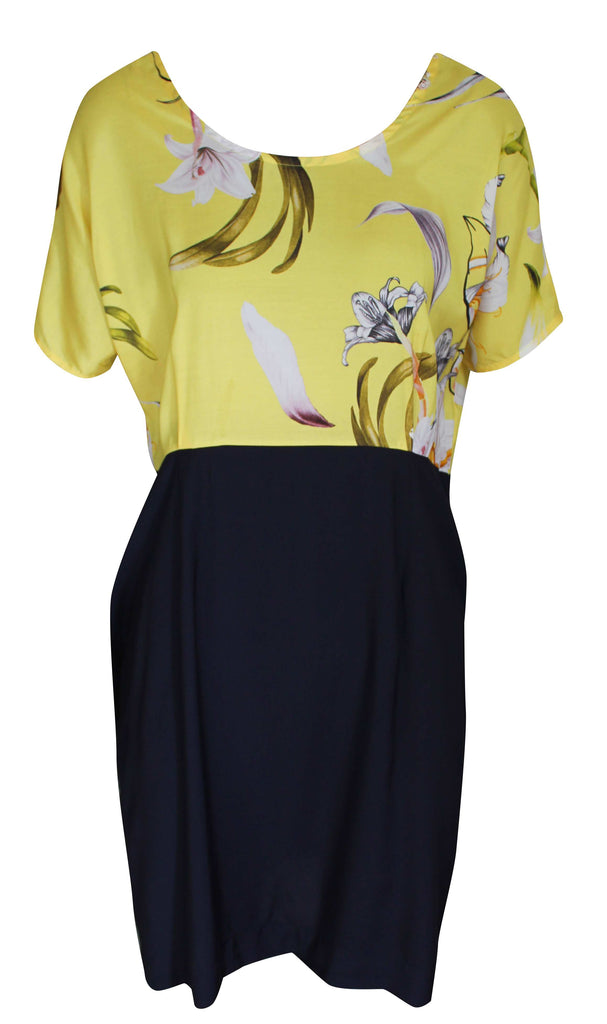 Calypso Dress - Yellow