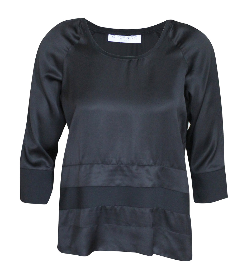 Manhattan Top - Black