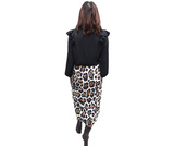 MARLEY SKIRT - ANIMAL PRINT
