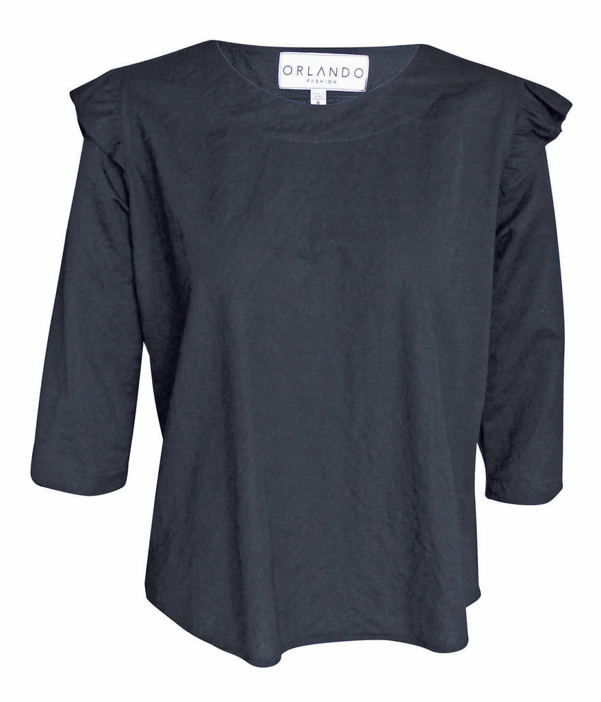 MARLA TOP - BLACK