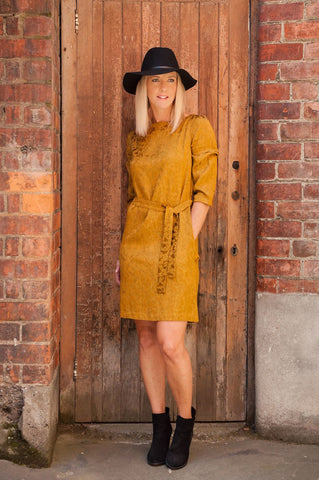 KATE WRAP DRESS - KNIT