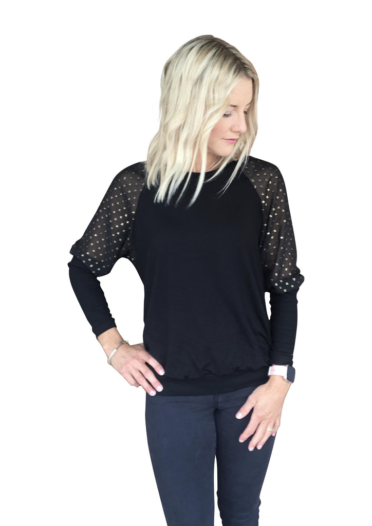 SUNSET TOP - BLACK