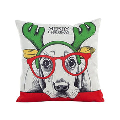 Dog Days of Christmas Cushion Cover