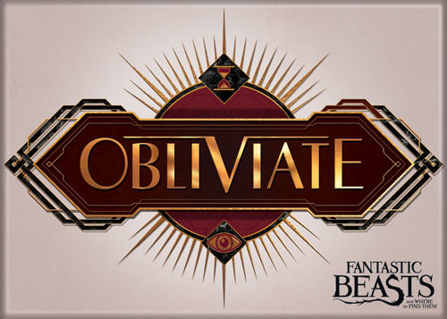 Fantastic Beasts Obliviate Photo Magnet