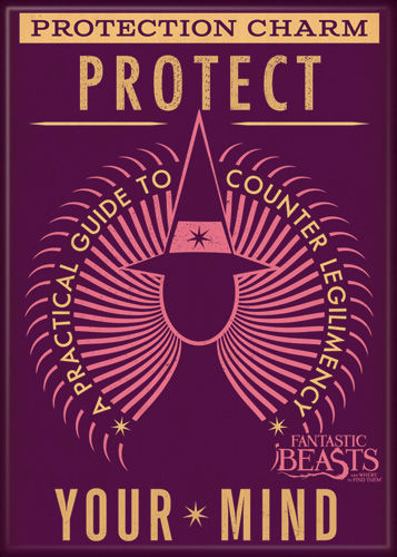 Fantastic Beasts Protect Your Mind Photo Magnet
