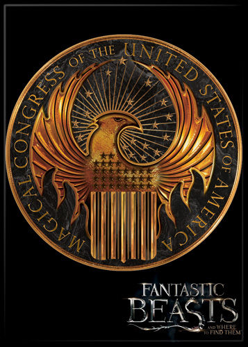 Fantastic Beasts MACUSA Photo Magnet