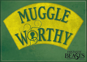 Fantastic Beasts Muggle Worthy Photo Magnet