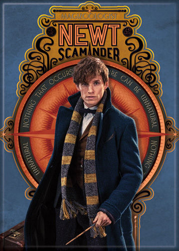 Fantastic Beasts Newt Scamander Photo Magnet