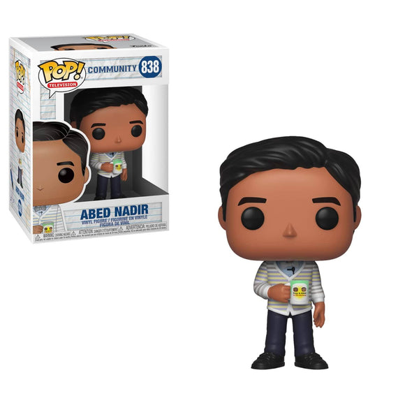 Funko Pop! Vinyl Figure - Community - Abed Nadir